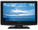 【中古】DXアンテナ 19V型 液晶 テレビ LVW-193(K) ハイビジョン 2009年モデル