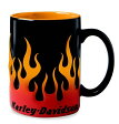 ショッピングハーレーダビッドソン 【純正品】HARLEY-DAVIDSON◆ハーレーダビッドソン・Sculpted Flame Mug・スカルプフレームマグ・ハーレーらしいファイヤーフレームの大き目のマグカップ[425ml]:99219-16V [ 532P19Mar16 ]