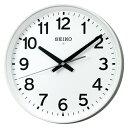 エントリーでポイント5倍4日20時より/セイコー 掛時計(電波時計 掛け時計 壁掛け時計 電波クロック オフィス 学校) (連続秒針)