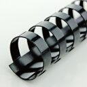 アコ・ブランズ プラスチックリング(A4・20穴)(ブラック)