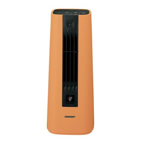 代引不可 シャープ セラミックファンヒーター HX−ES1−D オレンジ