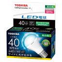東芝 LED電球 ミニクリプトン形 広配光タイプ 全光束440lm