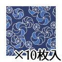 トーヨー 藍染風千代紙(B4) No.114 1セット(10枚入) 36.1X25.7cm/枚