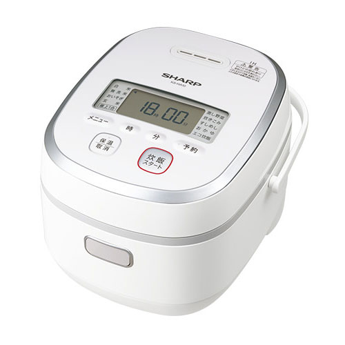 代引不可 シャープ IHジャー炊飯器 5.5合炊き KS−HA10−W(ホワイト系)