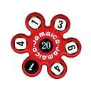 トモエ ジャマイカ 赤 サイコロ計算ゲーム JAMAR 知育玩具(赤)