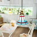 ショッピングダイニング 送料無料!ペンダントライト -Maribu(マリブ)AW-0389- ペンダントランプ 照明器具 天井照明 間接照明 インテリア リビング ダイニング用 キッチン 玄関 西海岸 おしゃれ ガラス ステンドグラス アンティーク