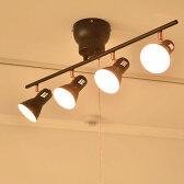 シーリングライト ブルックリン 男前 塩系 カリフォルニア 送料無料 LED対応 シンプル おしゃれ スポットライト インダストリアル リビング用 居間用 6畳 8畳 -SARTO-C(サルトC) DN-918