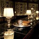 楽天ライト・インテリア照明 DOTS-NEXTテーブルライト Victoria AW-0203 テーブルランプ スタンドライト 寝室 ベッドサイド ランプ 間接照明 照明 おしゃれ ガラス フェミニン クラシック ヨーロッパ アンティーク シャビーシック
