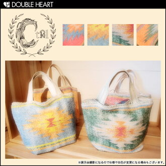 キャセリーニ final disposal Super Sale bag mini back hair chimayo pattern Tote control freak | ladies, mail order / Tote / handbag | fs3gm