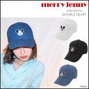 merry jenny メリージェニー mickey cap ミッキーキャップ レディース キャップ 帽子 起毛 デニム ディズニー disney コラボ ミッキー ミッキーマウス キャラクター ヴィンテージ 281723200301[GW]