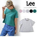 Lee リー Lee STAND UP COLLAR CROPPED TEE tシャツ