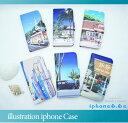 iphone6s ケース 手帳型 手帳型ケース 栗山義勝イラストiphoneケース iphone6sケース iphone6ケース ハワイアン雑貨 ハワイアン 雑貨 ハワイ おしゃれ 安い サーファー 海 ビーチ イラスト アート デザイン プレゼント ギフト