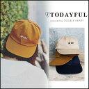 TODAYFUL トゥデイフル LIFE's ライフズ 通販 Logo Cap キャップ ロゴ ロゴキャップ マスタード ネイビー ベージュ 11621059