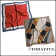 TODAYFUL トゥデイフル LIFE's ライフズ 通販 (3月下旬予約) Assort Wide Scarf アソートワイドスカーフ レディース 小物 ファッション小物 スカーフ 11711034