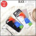 《期間限定★P10倍》BLACK BY MOUSSY ブラックバイマウジー カード収納背面ケース iphone ケース カード収納 iphone7 iphone8 スマホケース アイフォンケース カバー カードケース 607909606