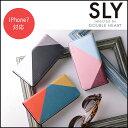SLY スライ iPhone7スマホケース/カラートライアングル iPhone iPhone7ケース スマホケース スマートフォンケース iPhoneケース アイフォンケース ケース カバー 手帳型 携帯アクセサリー ip7-sly-72508 ip7-sly-72509 ip7-sly-72510