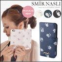 サミールナスリ SMIR NASLI Dark Flower Mobile Case 6/6S iPhone iPhone6 iPhone6S 花柄 手帳型 スマホケース スマートフォンケース ケース 0109-31878