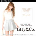  &amp; Coe [titty&amp;amp;co] extreme popularity mil key color  chiffon print TOPS[ net-limited  advance reservation] [middle of June our store arrival planned ]|] ()| impossible of collect on delivery for a reservation) It is [fs2gm] lady's / mail order / blouse / shirt / short sleeves [2013 new works in the spring and summer] [RCP]