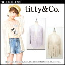  &amp; Coe [titty&amp;amp;co] Lady's tops knit gown cardigan long sleeves flower knit gown | It is  | to the haori of air conditioner measures [2013 new works in the spring and summer] [RCP]] which sends [fs2gm][ immediately