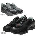スニーカー メンズ カジュアル ウォーキング 黒 ブラック グレー 軽量設計 防水 redbear 1095...