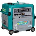 【ポイント10倍】 【代引不可】 Denyo (デンヨー) エンジンTIG溶接機 GAT-150ES2 超低騒音型 【メーカー直送品】