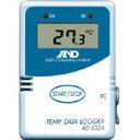 A&D 温度データーロガー 4000メモリー AD5324 (330-6682) 《温度計・湿度計》