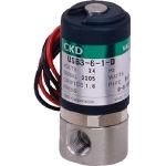 【送料無料】 CKD 小形直動式2ポート電磁弁 USB3-6-1E-DC12V (583-8304) 《電磁弁》