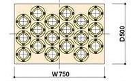 【ポイント5倍】 【】 山金工業 ヤマテック 棚板 WLT-7H50-IV 【メーカー直送品】 「快適作業空間」をお届けします!
