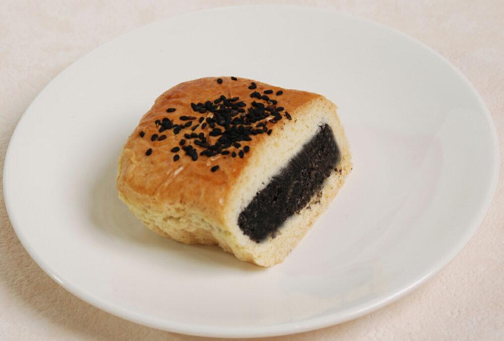 黒麻甘露酥−黒ごま餡中華菓子-【横浜中華街・中華菜館 同發】