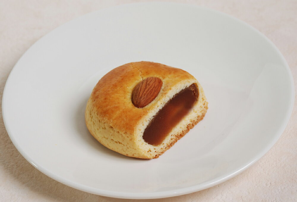 杏仁蓮茸餅-蓮の実餡中華菓子−
