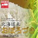 北海道産 おぼろづき15kg(5kg×3) 北海道米 おぼろづき おためし 送料無料※沖縄は送料別途加算