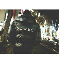 DOWBL/ ダブル/ Raven Hooded Logo Down Jacket 【全1色】