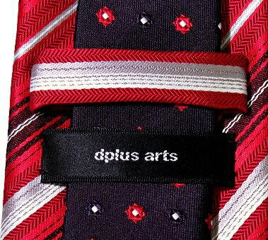 パワフルで積極的 赤 ネクタイ シルク 日本製...の紹介画像3