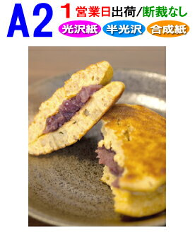 【A2】ポスター印刷1営業日目出荷【化粧断裁しない】