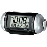 SEIKO セイコー 大音量目ざまし時置計 電波時計 Super RAIDEN スーパーライデン NR523K 黒メタリック塗装 セイコー時計 めざまし時計 目ざまし時計 電波目覚し時計