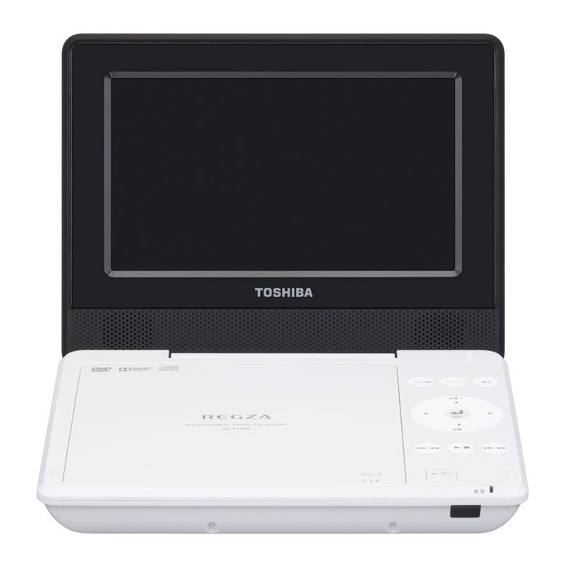 SD-P710SW ポータブルDVDプレーヤー TOSHIBA 東芝 REGZA レグザポータブルプレーヤー SDP710SW ホワイト【KK9N0D18P】