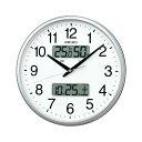 樂天商城 - お取り寄せ KX235S 電波掛時計 SEIKO セイコー カレンダー、温度・湿度表示つき電波掛時計 壁掛け時計 電波時計 電波掛け時計 電波掛時計 壁掛時計 かけ時計 壁掛け電波時計 電波壁掛け