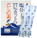 シマヤ 塩分調整商品塩分77%カットのだしの素 4g×30【RCP】