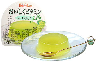 Tasty House Foods Corporation vitamin jelly ( Muscat ) 60 g