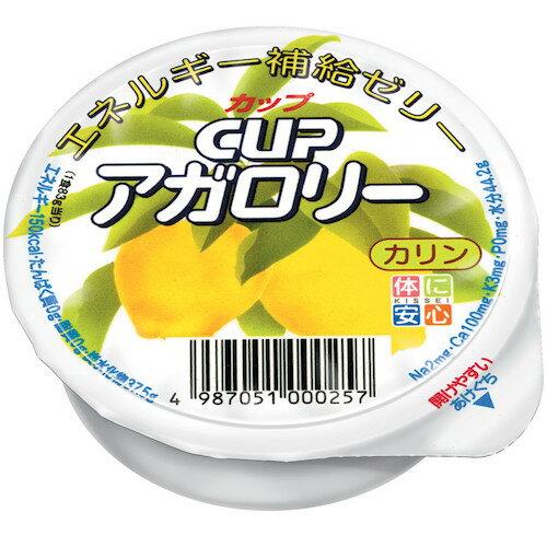 キッセイ薬品工業株式会社ビフィズス菌を増やすオリゴ糖入Cupアガロリー カリン 83g【RCP】