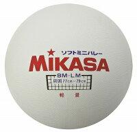 【MIKASA ミカサ】【ボール】 ソフトバレーボール ソフトミニバレーボール(大) BM-LM[メール便不可]の画像