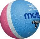 モルテン molten 軽く当たっても衝撃が低いので、ボールを怖がらず楽しめます。 ライトドッジ SLD1PSK サックス×ピンク[メール便..