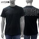 【2019SS】ハイドロゲン HYDROGENバックプリント 半袖Tシャツ【ブラック】240004 007/HYDROGEN/m-tops