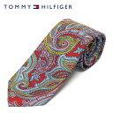 ショッピング楽 【2020SS】トミー・ヒルフィガーネクタイ necktie【ペイズリーレッド】87591605600 /TOMMY HILFIGER/necktie