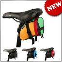 【送料無料】自転車 サドルバッグ 旅行などに便利な小物入れ! スマホ ホルダー 収納バッグ 4色可選 0824楽天カード分割 02P01Oct16 02P28Sep16