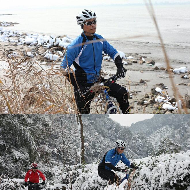 サイクルジャージ 長袖 秋冬 ...