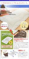 〔Colour:s〕日本製選べる10カラー洗える抗菌防臭シンプルでホコリの出にくい布団セット洗える抗菌防臭ふとんセット布団セット4点セットシングルロング