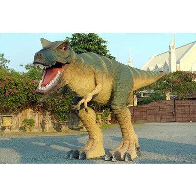 全長8m超!ティラノサウルス T-REX 超巨大造形物B(恐竜等身大フィギュア)