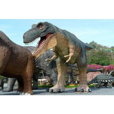 全長14m超!ティラノサウルス T-REX 超巨大造形物(恐竜等身大フィギュア)