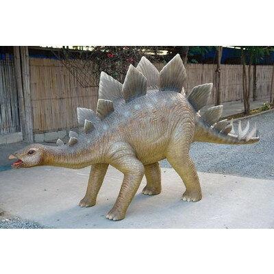 全長2m!ステゴザウルス巨大フィギュア(恐竜等身大フィギュア)